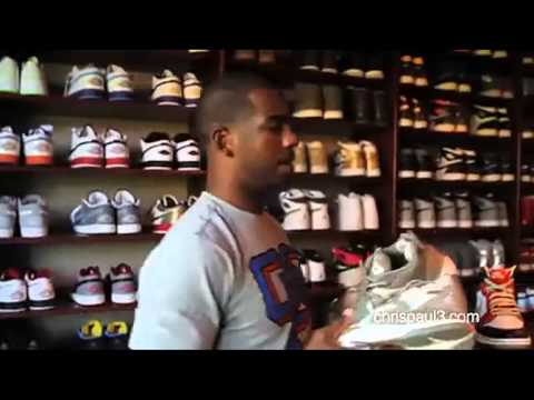 Chris Paul's Crazy Sneaker Collection