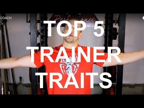 TOP 5 SIGNS YOU HAVE A GOOD COACH/TRAINER