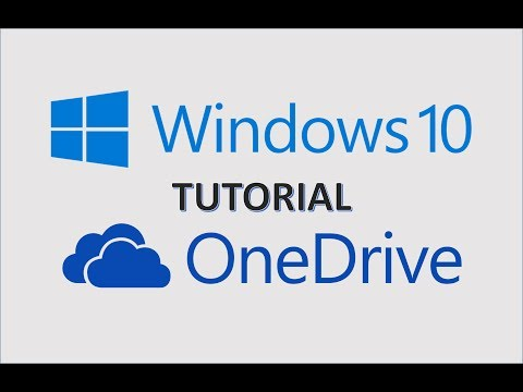 OneDrive 2017 - How to Tutorial on Microsoft Windows 10 - Sync Files in One Drive to File Explorer