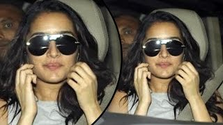 Shraddha Kapoor Spotted At Sunny Super Sound