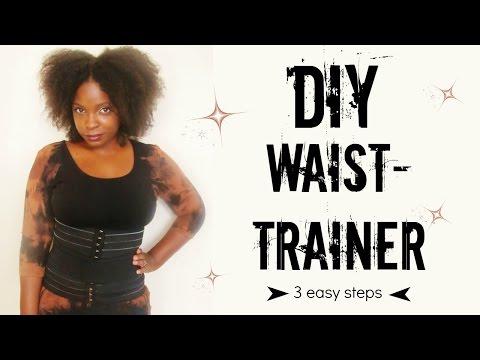 DIY Waist Trainer