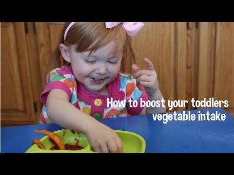How to boost your toddlers vegetable intake! Recipe included!