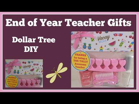 End of Year Teacher Gifts ✏️Dollar Tree DIY Part 1