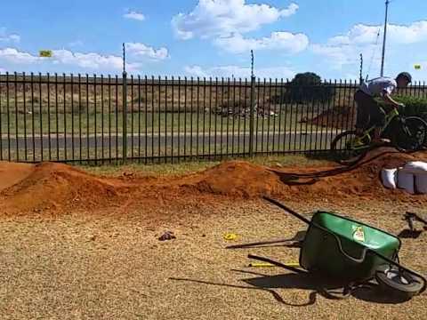 Pumptopia pump track in Pretoria, South Africa