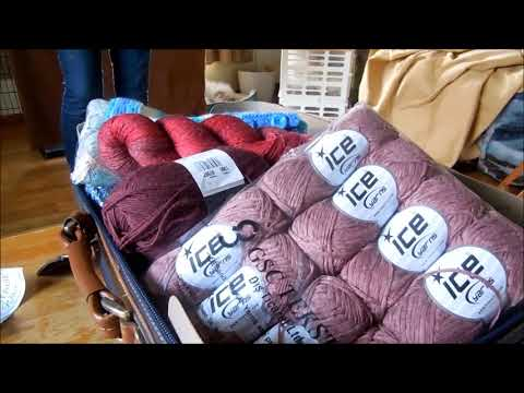 Ice Yarn Knitting Projects