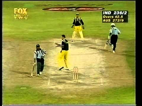 Sachin Tendulkar murderous 134 vs Australia 1998 Sharjah