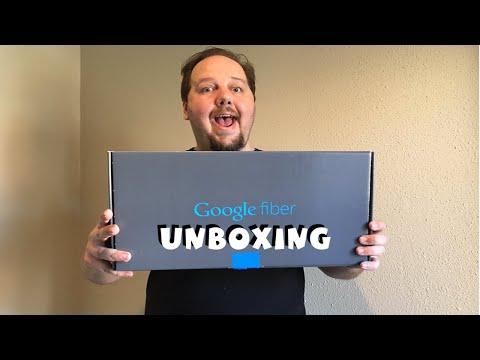 Google Fiber Unboxing - Self Install Box