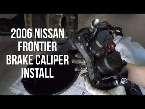 Nissan Frontier Brake Caliper Replacement