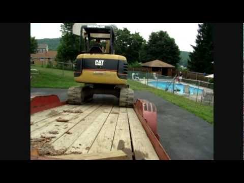 French drains, the only why to stop a leaky basement part 1