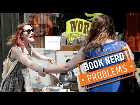 Book Nerd Problems | Resisting a Book Sale