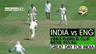 1983 WORLD CUP SEMI FINAL- THE DAY KAPIL