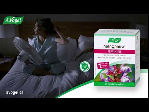 A.Vogel Menopause: Relief from hot flashes and night sweats