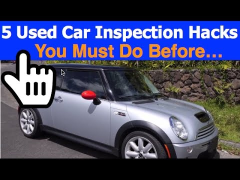 Used Car Inspection Tips  - How To Buy And Sell Cars for Profit