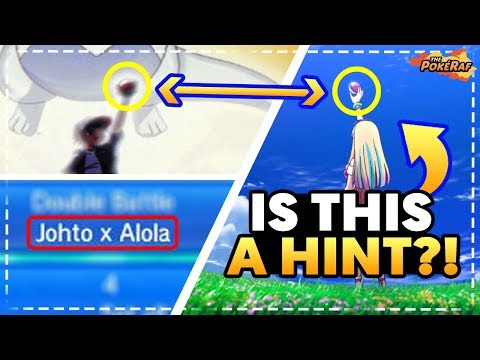 BIG JOHTO HINTS! LUGIA RETURNS and ZERAORA/GEN 8 HINTED in Pokémon the Movie 2018!