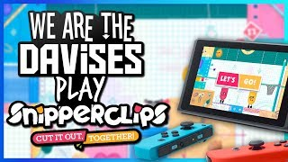 Daddy Daughter Time | Snipperclips EP-3 | Gaming With Kayla and Shawn Davis