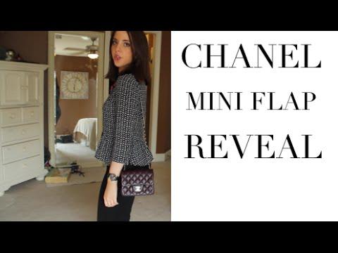 Unboxing  CHANEL Mini Flap Bag + Mini Vlog - Chanel Mini Crossbody ... ef24c88b886bf