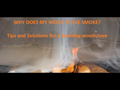 Why Is My Woodstove Smoking Back Into My Home?