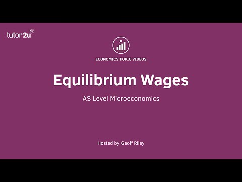 Equilibrium Wages