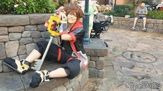 Sora at Disney World!! Kingdom Hearts 3!!【Cosplay Showcase】