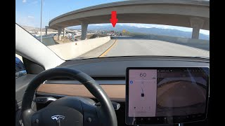 Download Tesla Autopilot Not Detecting Stopped Traffic on Highway Video