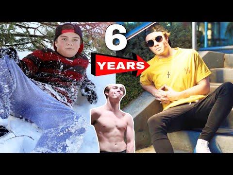 My INSANE 6 Year Body Transformation *Puberty*