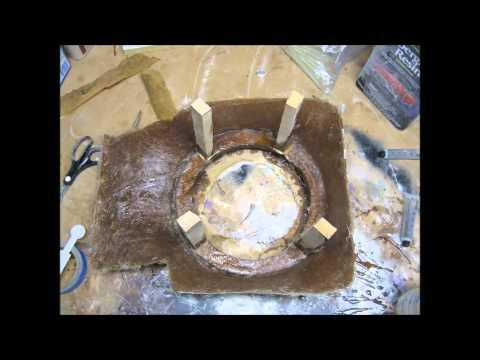 fiberglass sub enclosure build