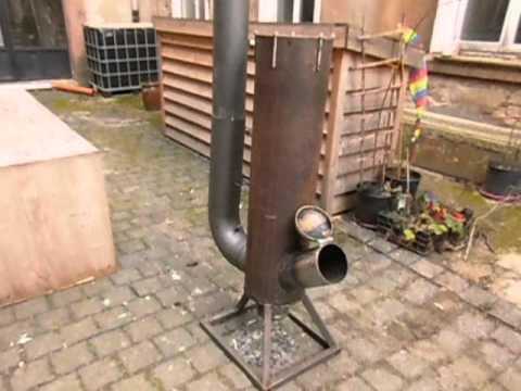 Rocketstove Heat exchanger Water heater  4