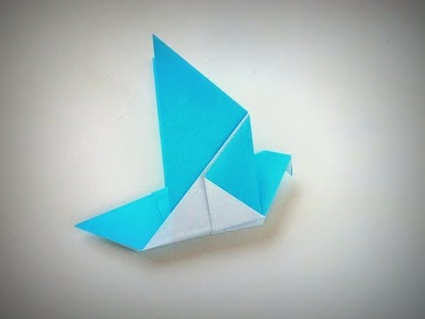 Origami - How to make a DOVE