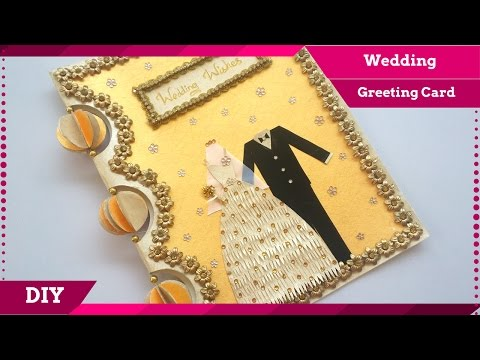 DIY Wedding Greeting Card Handmade - Greeting Card Design For Special Occasions / Anniversary!