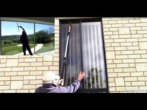 REMOVING HIGH FLY SCREENS FROM WINDOWS