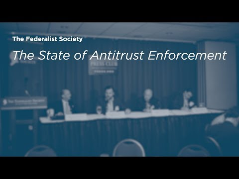 The State of Antitrust Enforcement