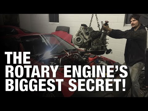 The SECRET Behind Why RX7 and RX8 Rotary Engines Make SO Much Power