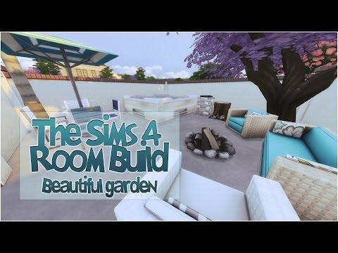 The Sims 4 Room Build | Beautiful Garden