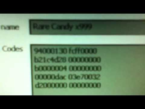 Pokemon Diamond Dsi Action Replay Codes