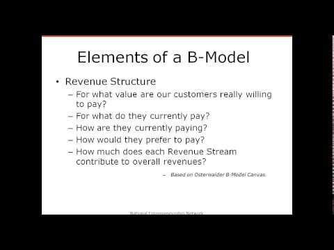NEN Webinar #83 Building a Winning Business Model