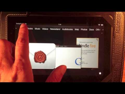 First Steps - Kindle Fire
