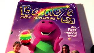 barneys great adventure the movie vhs