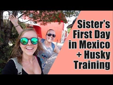 127. Maddie's Sister Experiencing Mexico for the First Time + Stubborn Husky Training