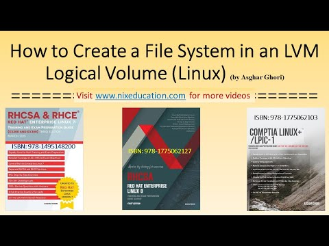 How to Create a File System in a Logical Volume in Linux