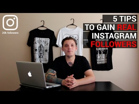 5 Tips To Gain Real Instagram Followers Fast