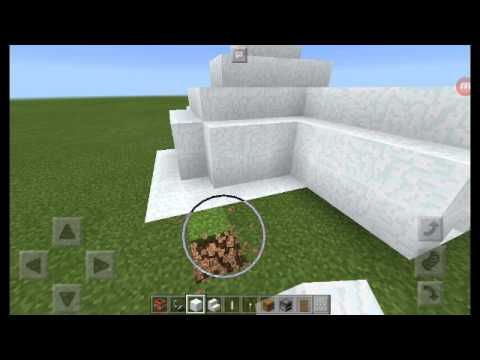 How to make an igloo house in minecraft part 2