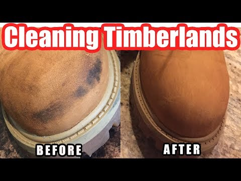 How to Clean Timberland Boots at Home Using Suede (Nubuck) Cleaning Kits