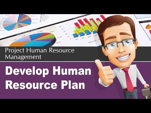 9.1 Develop Human Resource Plan Process | Human Resource Management || whatispmp.com