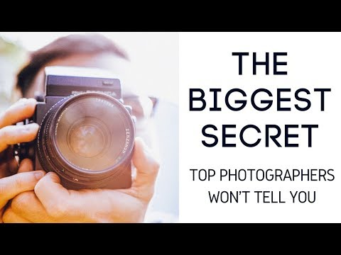 The Biggest Secret Top Photographers Won't Tell You