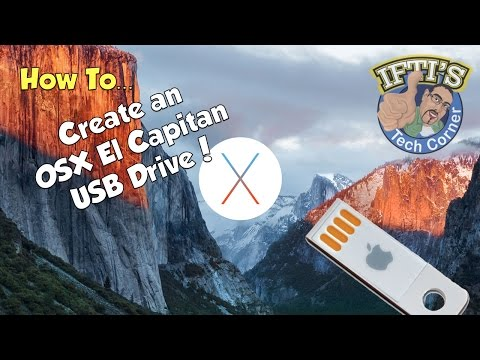 OSX 10.11 El Capitan - How to Create a Bootable USB Flash Drive - GUIDE!