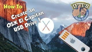 Osx 1011 El Capitan How To Create A Bootable Usb Flash Drive Guide