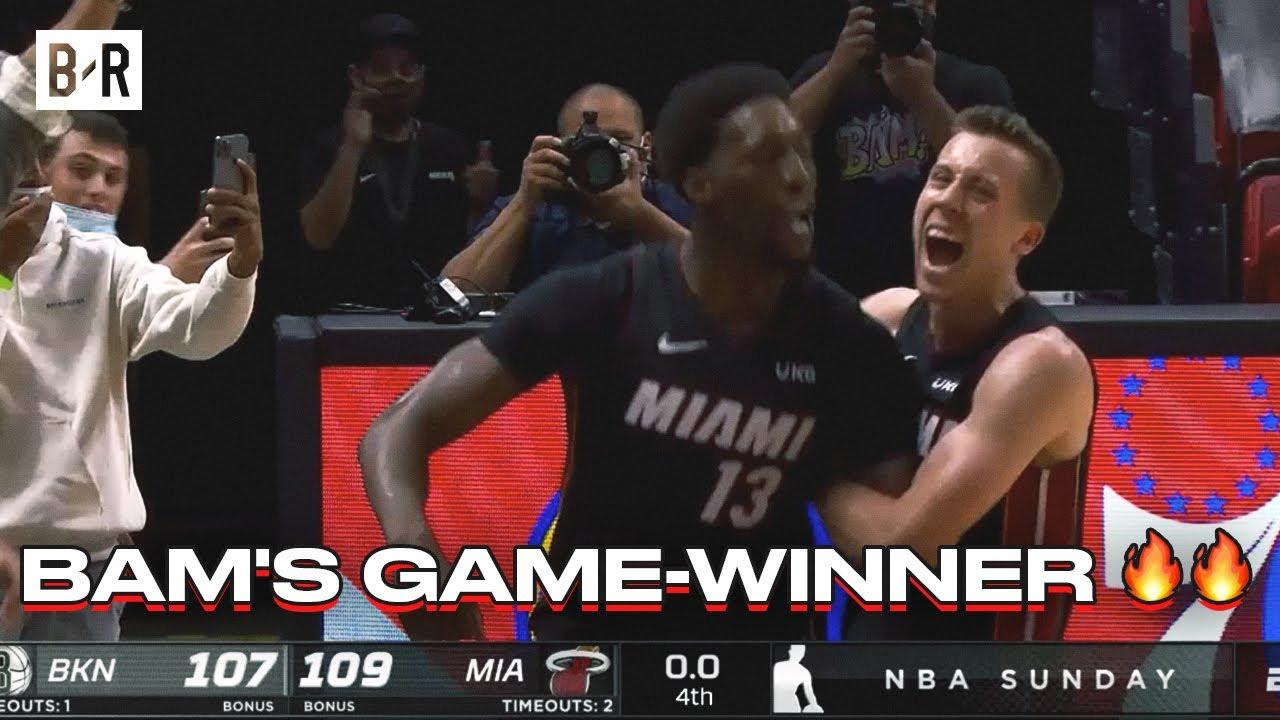 Bam Adebayo Hits Game-Winner vs. The Nets