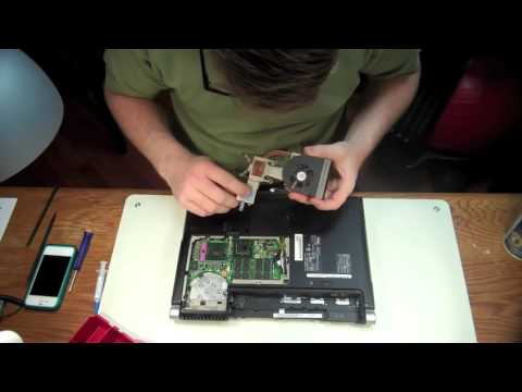 Dell XPS Laptop Fan Cleaning   Overheating Issue Solved