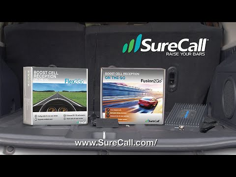 SureCall Mobile Cell Phone Signal Booster for Vehicles