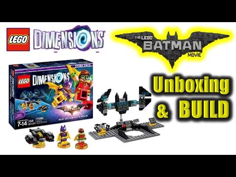 Lego Dimensions - The Lego Batman Movie Story Pack - Let's BUILD the Bat Computer, Robin & Batgirl!
